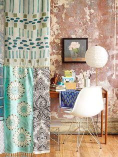 Silk Scarf Room Divider