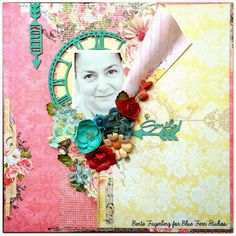 Paper and Glue Heaven: My very first post for Blue Fern Studios.