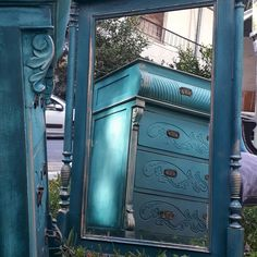 Dresser, Antiques, Furniture, Home Decor, Antiquities, Powder Room, Antique, Stained Dresser, Interior Design