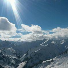Walmendingenhorn 22-02-2014 #Oostenrijk #Vorarlberg #Mountains