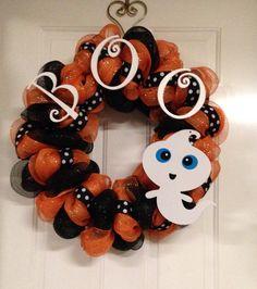Boo wreath!