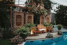 Instagram Wedding Lounge, Fairy Lights, Patio, Garden, Outdoor Decor, Instagram, Home Decor, Garten, Decoration Home