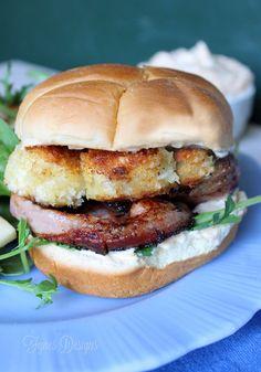 Scallop Burger Recipe