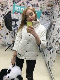 Стильная двухстороння женская курточка Инфинити на кнопках плащевка молоко