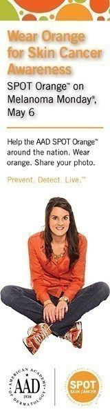 Melanoma Monday - Wear Orange for Skin Cancer Awareness