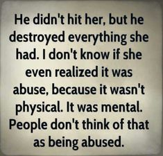 sadly, so true; the scars we carry are invisible