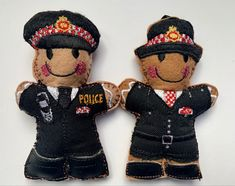 Police Uniforms, Police Officer, Gingerbread Man Decorations, London Police, London City, Leather Boots, Unique Gifts, Christmas, Shoes