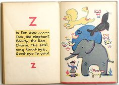 THE GAY ABC by FRANCOISE, 1930  #alphabet  #abecedario  #children's books  #libros infantiles