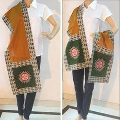 Bright Sun for a bright day.Make your day extra special with this lovely piece of art a stole. Blend it with western or indo - western wear.