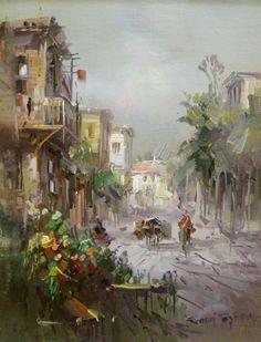 Remzi Taşkıran Painting & Drawing, Watercolor Paintings, Energy Pictures, Turkish Art, Foto Art, Landscape Paintings, Landscapes, Lovers Art, Creative Art