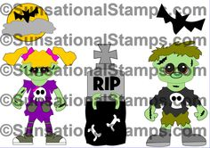 (2) Sunsational Stamps