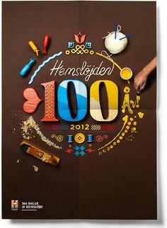 Swedish Handicraft Movement,100th year by Snask.
