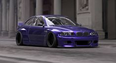 Widebodykits for BMW: Pandem fluffed E36 and E46 on