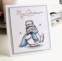 Made by Sandra: .......en nog twee kerstkaartjes