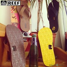 REEF | Les nouvelles tongs avec décapsuleur | SearchSwear