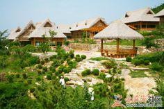 On the beach - Da Rushan, Yintan, Weihai.  www.kungfushaolins.com