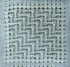 Whitework Embroidery: SAL Pulled Thread Pattern No.9-13