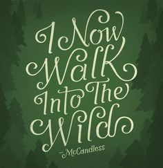 Into the Wild - I dislike the actual character Alexander Supertramp, but I admire some of his borrowed philosophies.
