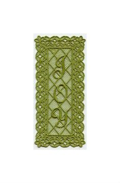 Joy Bookmark Lace Bookmark Machine by AliDianneCreations on Etsy, $5.50