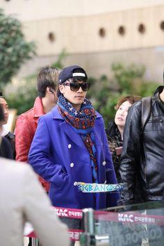 {PICS} 131113 Daesung and Seungri @ Gimpo Airport