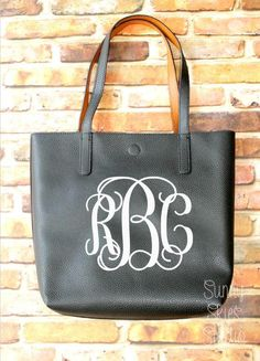 Monogrammed Tote, Sorority Tote, Game Day Bag, Personalized, Catch All Bag, Mothers Day, Teachers Gift, Bridal Shower Gift, Bridesmaid Gift  People everywhere will stop you to compliment this gorgeous bag! Its sturdy, functional, and stylish, and best of all, personalized! Great gift for a bride-to-be to show off her new last name. Also a great gift for Mothers Day, a teacher, a new mom, or anybody with a great sense of style! Or buy one for each of your bridesmaids to carry around all of…