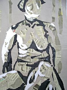 Exceptional Drawing The Human Figure Ideas. Staggering Drawing The Human Figure Ideas. Art Du Collage, Collage Drawing, Mixed Media Collage, Art Drawings, Figure Drawings, Painting Collage, Collage Artists, Drawing Artist, Mixed Media Artists