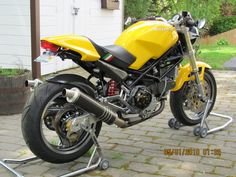 SOLD: 1996 Ducati Monster very clean with lots of add-ons. Bikes For Sale, Ducati Monster, Motogp, Cars And Motorcycles, Modern Furniture, Restoration, Gallery, Vintage, Roof Rack