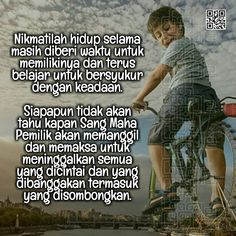 Nikmatilah hidup Doa, Islamic Quotes, Allah, Quotations, Life Quotes, Inspirational, Words, Memes, Fashion