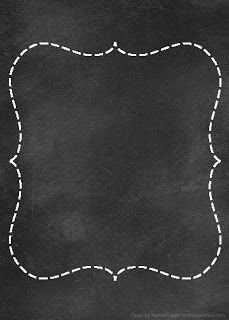 chalkboard papers for DIY printables