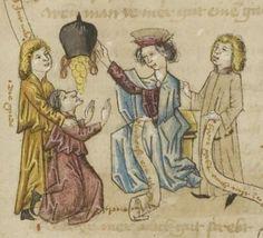 Sammelhandschrift  - Thomasin <Circlaere> (1186 - 1216)  Boner, Ulrich (1280 - 1350)  Heinrich <der Teichner> (1310 - 1377)  Freidank ( - 1233)  Nordbayern (Raum Eichstätt?)Erscheinungsdatumum 1445 (I) / um 1460 (II) / um 1450 (III) Mscr.Dresd.M.67  Folio 50r