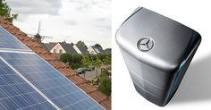 Mercedes comienza a vender baterías domésticas para almacenar energía solar