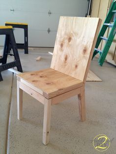 Shows you how easy it is to make your own chairs..must do