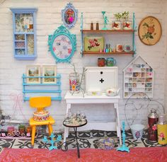 Is This Actually A Collective Name A Clutter Of Kitsch! #home