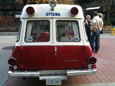 Vintage ambulance collection W. Byrdny Riverview West Kildonan Ambulance Service Winnipeg Canada