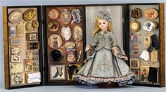 "Jean Nordquist's 12"" FASHION Doll ACCESSORIES -10 PATTERNS - 100+Vintage labels"
