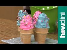 Ice Cream Cone Cupcakes Are Perfect For Parties | The WHOot