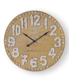 Look at this Yellow Clifford Clock on #zulily today!