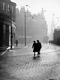 Charing Cross, early morning, looking east, 1955  Sometimes, an image of Glasgow just stops your heart; sets your mind and imagination spinning, and makes you long, if even just for a minute, to be able to step back in time. This is such an image.  Picture: Partick Camera Club