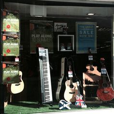 Good afternoon sunny Edinburgh! ☀️ Could it really be that summer has begun??? | #musicroom #raemacintosh #Edinburgh #Scotland  #sunshine #happy #shopping #family #friends #happy #goodtimes #music #musicians #goodmusic #piano #keyboard #Yamaha #Casio #guitars #Tanglewood #Puretone #ukulele #green #grass #acoustic #summer #festivals #fringe #TinthePark