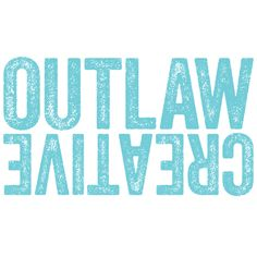 Outlaw Creative is a boutique design studio specializing in visual design, branding, and squarespace web development. www.outlawcreative.com