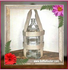 1 Gallon Water Bottle, Water Bottle Carrier, Glass Water Bottle, Glass Bottles, Glass Vase, 5 Gallon Pail, Salt And Water, Home Brewing, Hemp