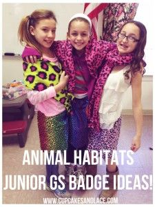 Craft & Activity Ideas For Animal Habitats Junior Girl Scout Badge Girl Scout Swap, Girl Scout Leader, Girl Scout Troop, Girl Scouts, Junior Girl Scout Badges, Girl Scout Juniors, Girl Scout Activities, Daisy Scouts, Girl Scout Crafts