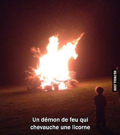 Un démon de feu ! | Be-troll