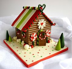 Chocolate Christmas Gingerbread House by Star Bakery UK