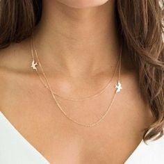 My Glamorous Sparrows Layered Necklace
