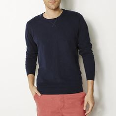 Pull col rond, manches longues R edition SHOPPING PRIX
