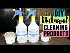 Hey guys! Here are a few DIY natural, non-toxic cleaning products that I like to use to clean my home. Let me know what some of your natural cleaning tips an...