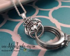 ON SALE Wide Claddagh Wedding / Engagement Ring & by AloraLocks- I want this! I'm worried about how reliable it is though...