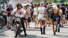 2015 NYC Vintage Motorcyclist Block Party