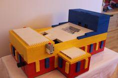 Lego bridge machine